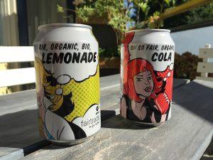 Een bio cola! Is dat lekker?