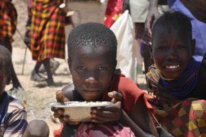 Hongersnood dreigt in Afrika: ruim 1 miljoen kinderen ondervoed