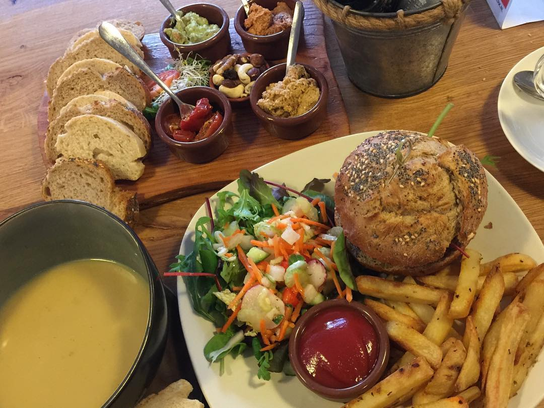 Veganistisch lunch Leeuwarden