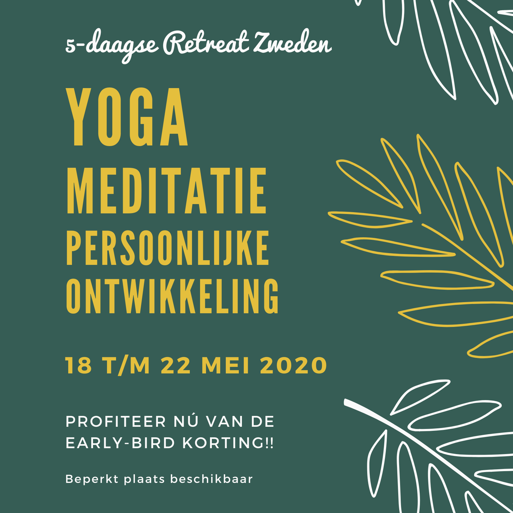 Retreat Zweden - Persoonlijke ontwikkeling yoga meditatie